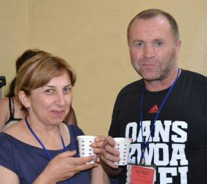 Moris and Ineza Senashavili
